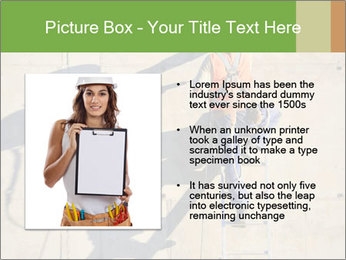 Construction worker PowerPoint Template - Slide 13