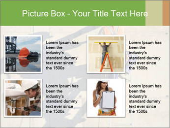 Construction worker PowerPoint Template - Slide 14