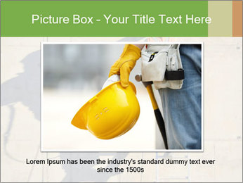 Construction worker PowerPoint Template - Slide 15