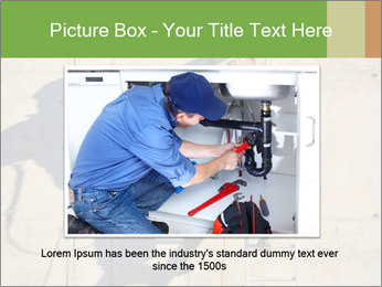 Construction worker PowerPoint Template - Slide 16