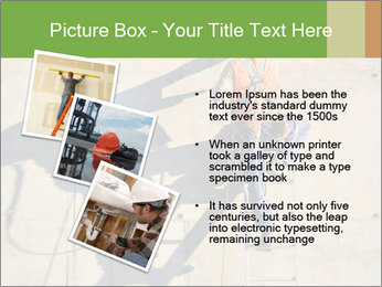 Construction worker PowerPoint Template - Slide 17
