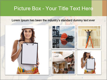 Construction worker PowerPoint Template - Slide 19