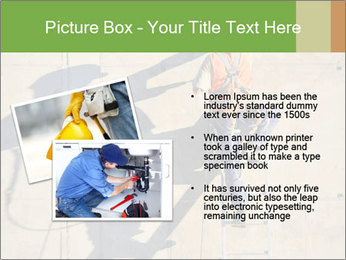 Construction worker PowerPoint Template - Slide 20