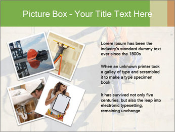 Construction worker PowerPoint Template - Slide 23