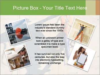 Construction worker PowerPoint Template - Slide 24