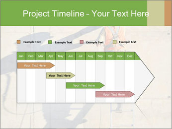 Construction worker PowerPoint Template - Slide 25