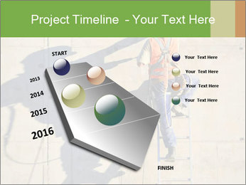Construction worker PowerPoint Template - Slide 26