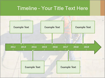 Construction worker PowerPoint Template - Slide 28