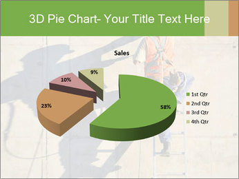Construction worker PowerPoint Template - Slide 35