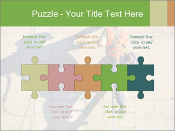 Construction worker PowerPoint Template - Slide 41