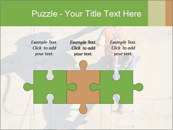 Construction worker PowerPoint Template - Slide 42