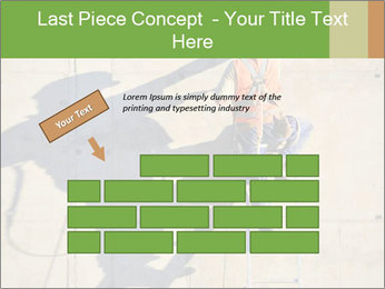 Construction worker PowerPoint Template - Slide 46