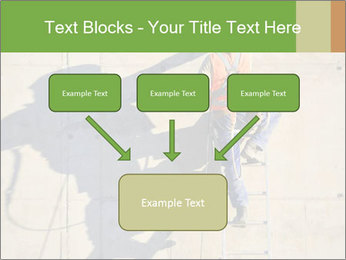 Construction worker PowerPoint Template - Slide 70