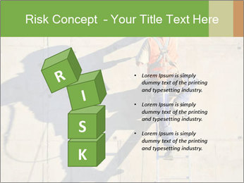 Construction worker PowerPoint Template - Slide 81