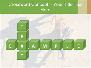 Construction worker PowerPoint Template - Slide 82