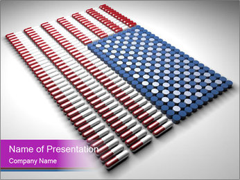 Capsules and pills in the shape PowerPoint Template - Slide 1