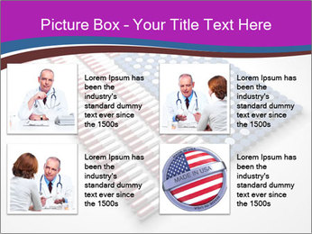 Capsules and pills in the shape PowerPoint Template - Slide 14