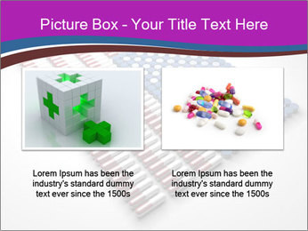 Capsules and pills in the shape PowerPoint Template - Slide 18