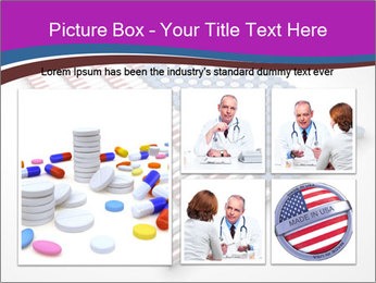 Capsules and pills in the shape PowerPoint Template - Slide 19