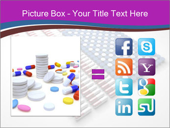 Capsules and pills in the shape PowerPoint Template - Slide 21