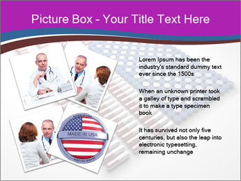 Capsules and pills in the shape PowerPoint Templates - Slide 23
