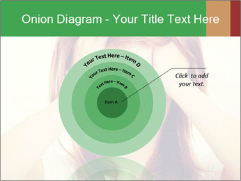 Teen woman with headache PowerPoint Templates - Slide 61