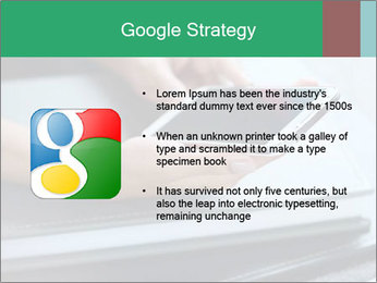 Hands of a businesswoman PowerPoint Template - Slide 10