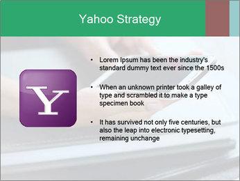 Hands of a businesswoman PowerPoint Template - Slide 11