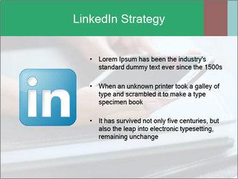 Hands of a businesswoman PowerPoint Template - Slide 12