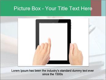 Hands of a businesswoman PowerPoint Template - Slide 15