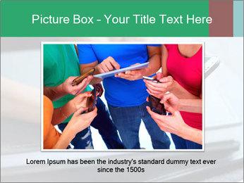 Hands of a businesswoman PowerPoint Template - Slide 16