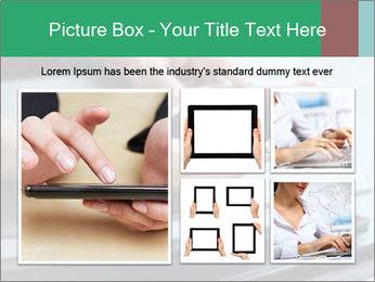 Hands of a businesswoman PowerPoint Template - Slide 19