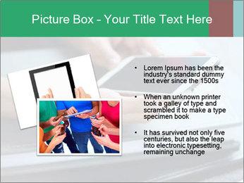 Hands of a businesswoman PowerPoint Template - Slide 20