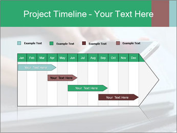 Hands of a businesswoman PowerPoint Template - Slide 25