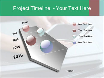 Hands of a businesswoman PowerPoint Template - Slide 26