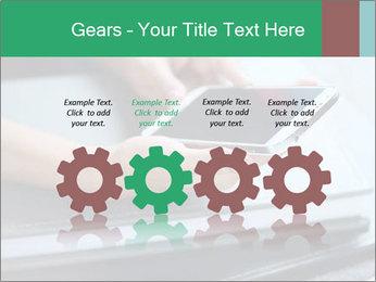 Hands of a businesswoman PowerPoint Template - Slide 48