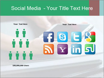Hands of a businesswoman PowerPoint Template - Slide 5