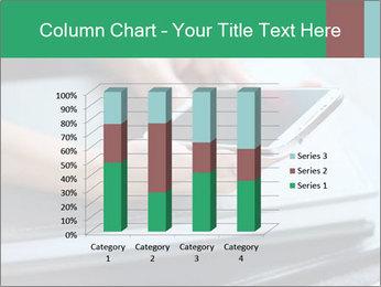 Hands of a businesswoman PowerPoint Template - Slide 50