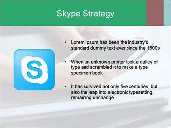 Hands of a businesswoman PowerPoint Template - Slide 8