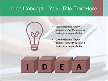 Hands of a businesswoman PowerPoint Template - Slide 80