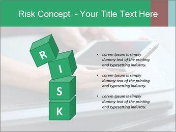 Hands of a businesswoman PowerPoint Template - Slide 81