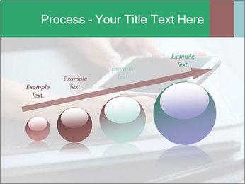 Hands of a businesswoman PowerPoint Template - Slide 87