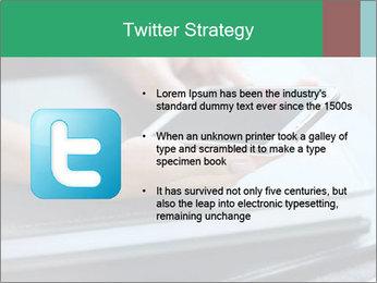 Hands of a businesswoman PowerPoint Template - Slide 9