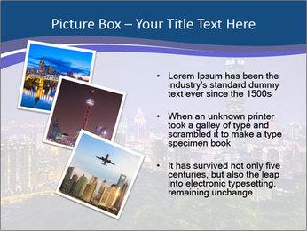 Taiwan skyline PowerPoint Template - Slide 17