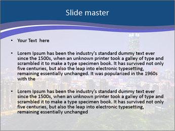 Taiwan skyline PowerPoint Template - Slide 2
