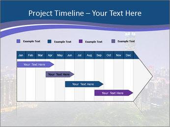 Taiwan skyline PowerPoint Template - Slide 25