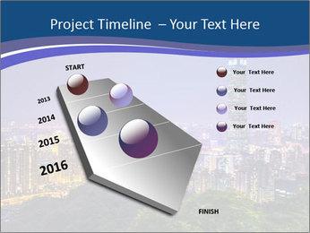 Taiwan skyline PowerPoint Template - Slide 26