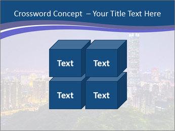 Taiwan skyline PowerPoint Template - Slide 39