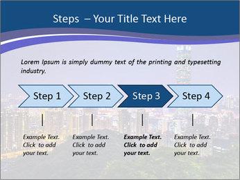Taiwan skyline PowerPoint Template - Slide 4