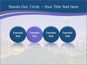 Taiwan skyline PowerPoint Template - Slide 76